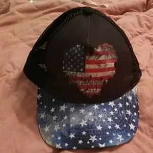 Black Stars & Stripes Hat!!!